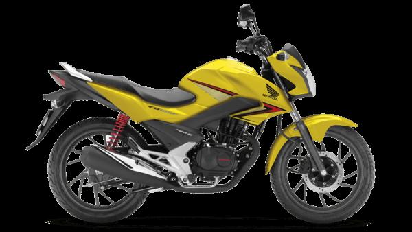 Honda CB 125F road bike Pearl Twinkle Yellow