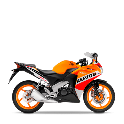 Honda CBR 125R road bike Nitric Orange