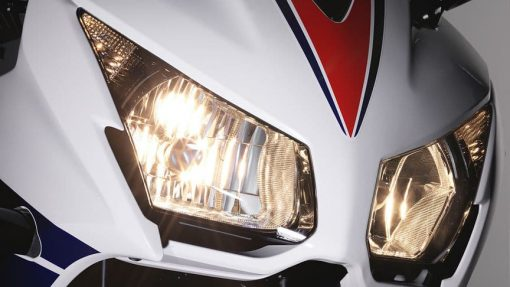 Honda CBR300 road bike lights