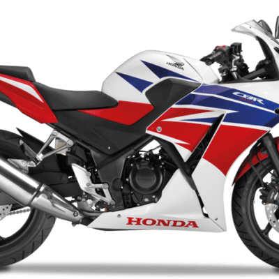 Honda CBR300R road bike ross white tricolour