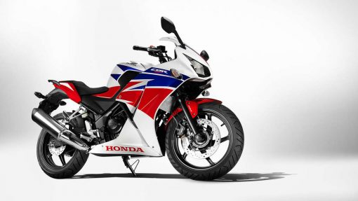 Honda CBR300R road bike white