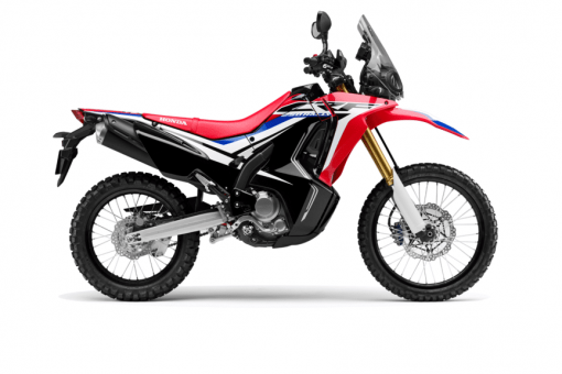 Honda CRF250 Rally bike