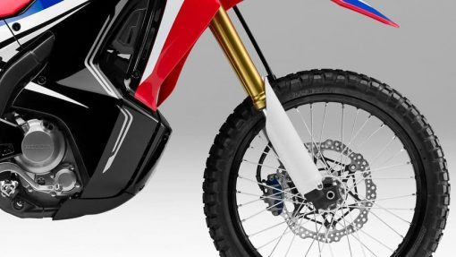 Honda CRF250 Rally road bike front wheel