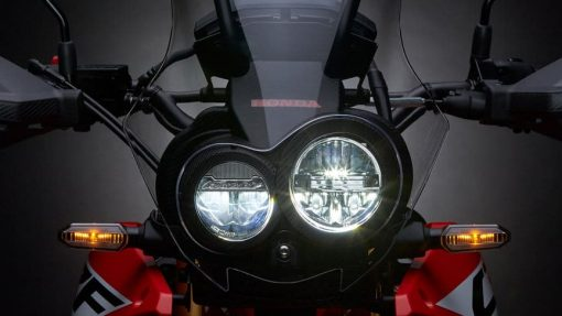 Honda CRF250 motorbike lights
