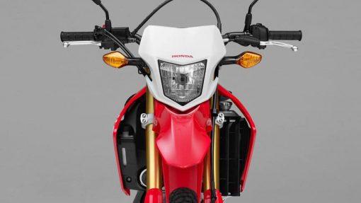 Honda CRF250L bike front view