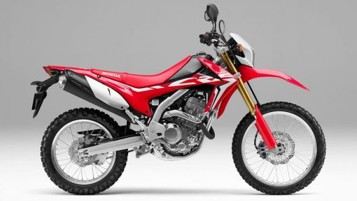 Honda CRF250L road bike
