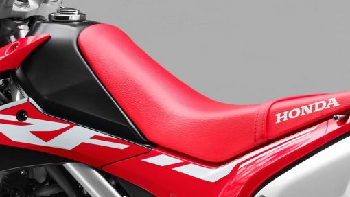 Honda CRF250L road motorcycle leather seat