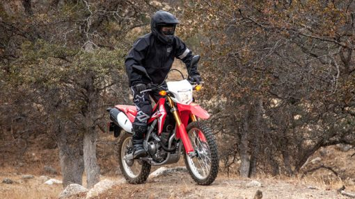 Honda CRF250L with driver motocross Chelsea