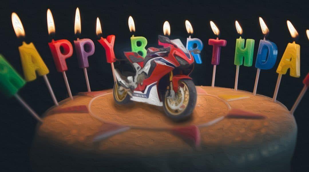 Happy 25th birthday, Honda Fireblade!