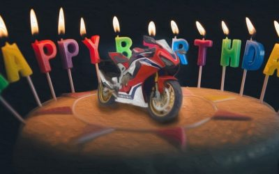 Happy 25th birthday, Honda Fireblade!