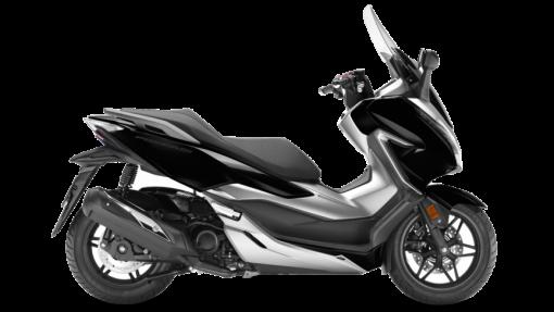 Honda Forza 300 Scooter - Pearl Nightstar Black colour