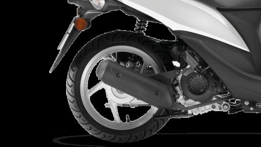 Honda Vision 50 scooter back wheel