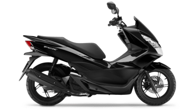 Honda PCX125 scooter black