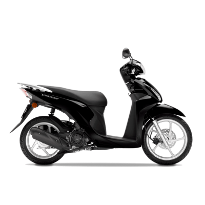 Honda Vision 110 scooter black - Chelsea Motorcycles