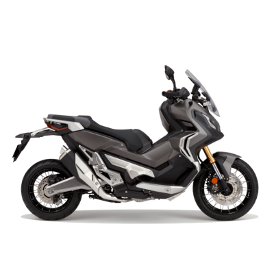 Honda X ADV scooter bullet silver colour