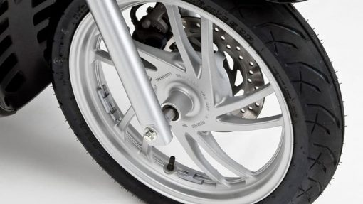 Honda SH125i ABS scooter front wheel