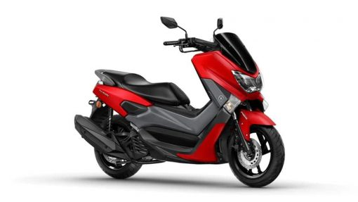 NMAX 125 scooter red