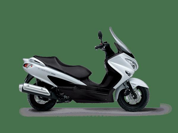 New motorcycles Chelsea - Suzuki Burgman 200 white