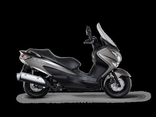 Suzuki Burgman 125 scooter silver