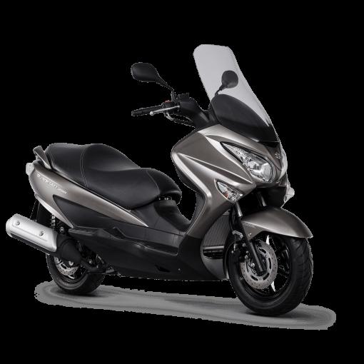 Suzuki Burgman 200 scooter dark