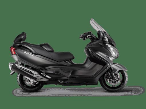Suzuki Burgman 650 scooter metallic matt black
