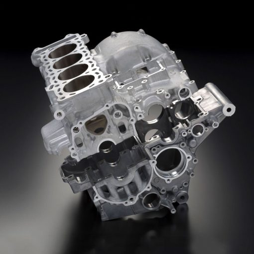 Suzuki GSX R750 sport motorcycle engine