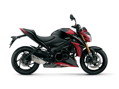 Suzuki GSX S1000 street bike red