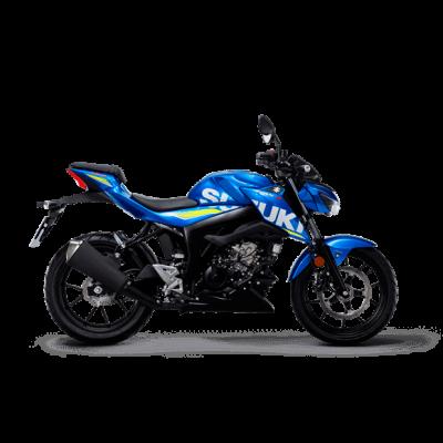 Suzuki GSX S125 MotoGP street bike blue