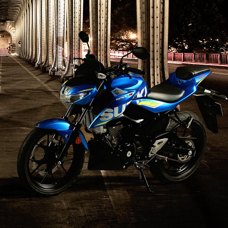 suzuki gsx s125 motogp street bike chelsea motorcycles group. Black Bedroom Furniture Sets. Home Design Ideas