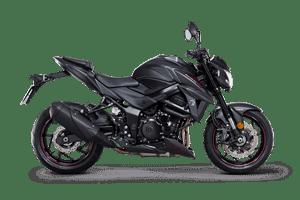 Suzuki GSX S750Z Phantom motorcycle black