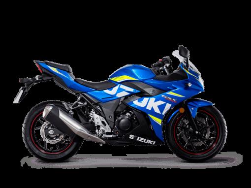 Suzuki GSX250R MotoGP sport bike triton blue – GSX 250 R MotoGP