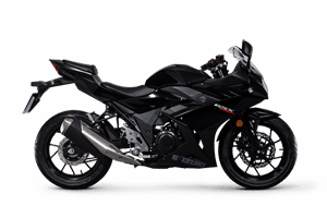 Suzuki GSX250R sport bike black