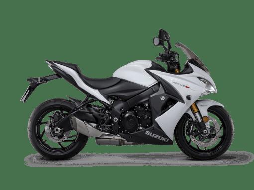 Suzuki Gsx s1000f motorbike white