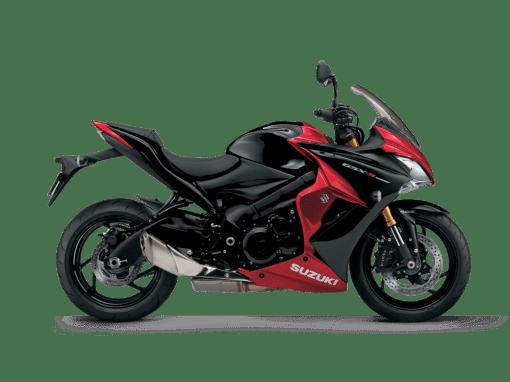 Suzuki Gsx s1000f motorcycle red