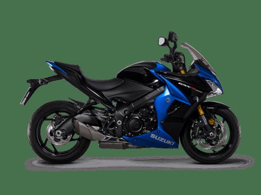 Suzuki Gsx s1000f sport bike blue