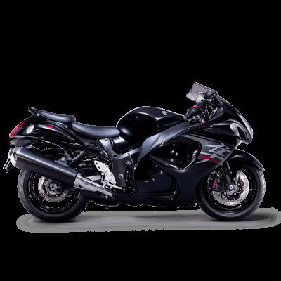 Suzuki Hayabusa sport bike sparkle black