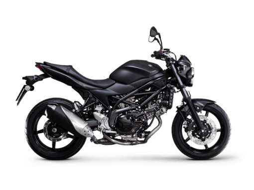 Suzuki SV650 bike black