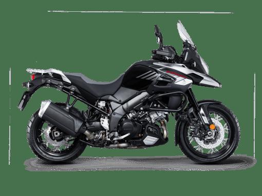 Suzuki V Strom 1000xt motorbike black