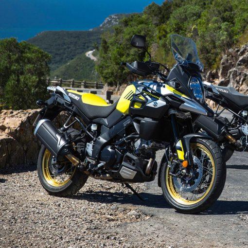 Suzuki V Strom 1000xt touring bike