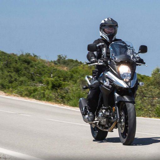 Suzuki V Strom 650 sport motorcycle