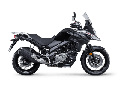 Suzuki V Strom 650xt touring bike black