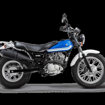 Suzuki VanVan 125 street motorbike blue - Suzuki Van Van 125
