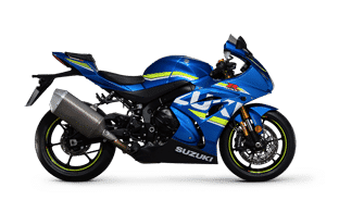 new Suzuki motorbikes