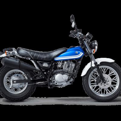 Suzuki VanVan 200 street bike metallic triton blue – Suzuki Van Van 200