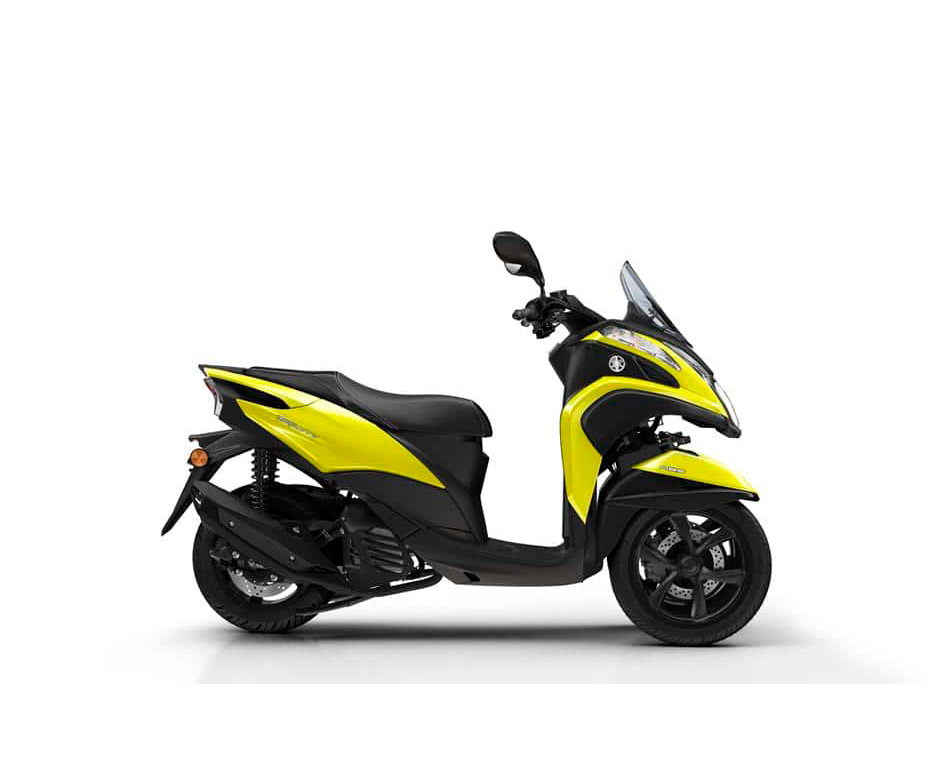 Yamaha Tricity 125 scooter sunny yellow colour