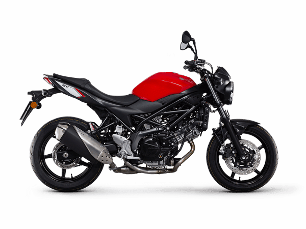 Used motorcycles London - SV650 red