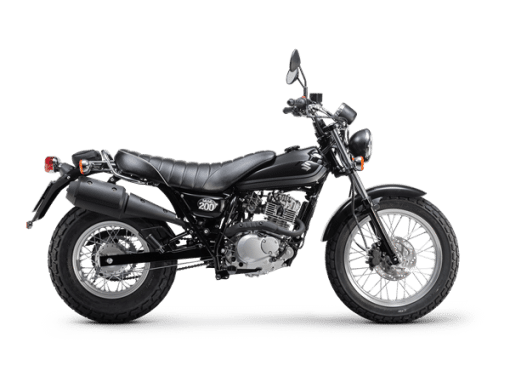 Vanvan 200 street motorcycle black