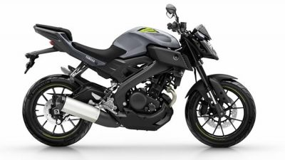 Yamaha MT 125 road bike colour night fluo