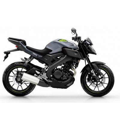 Yamaha mt-125 road bike colour night fluo
