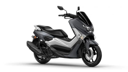 Yamaha NMAX 125 scooter grey